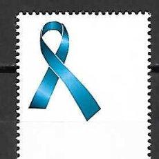 Sellos: LAZO AZUL, CONTRA LA VIOLENCIA. ESPAÑA . SELLO EMIT. 3.-7-97. Lote 130226186