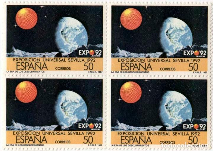 EXPO SEVILLA 1992 (Sellos - España - Juan Carlos I - Desde 1.986 a 1.999 - Nuevos)