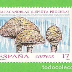 Sellos: EDIFIL 3244. MICOLOGÍA. - MATACANDELAS. (1993).** NUEVO Y SIN FIJASELLOS.. Lote 131200704