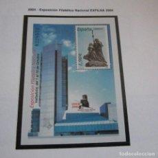 Sellos: ESPAÑA 2004, EDIFIL Nº 4117 HB** EXPOSICION FILATELICA NACIONAL EXFILNA 2004. Lote 131236319