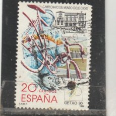 Francobolli: ESPAÑA 1990 - EDIFIL NRO. 3048 - CICLO-CROSS GEXTO 90 - USADO. Lote 131430082