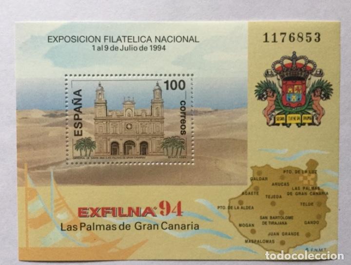 HOJITA EXFILNA 94 (Sellos - España - Juan Carlos I - Desde 1.986 a 1.999 - Nuevos)