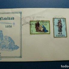 Sellos: ESPAÑA 1976 - NAVIDAD - EDIFIL Nº 2368-2369 - S.P.D. - F.D.C.. Lote 132103258