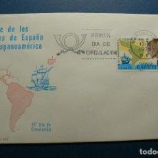 Sellos: ESPAÑA 1976 - VIAJE DE LOS REYES A HISPANOAMERICA - EDIFIL Nº 2370 - S.P.D. - F.D.C.. Lote 132103394