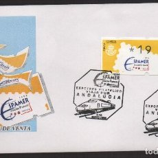 Sellos: SOBRE, EXPOSICION SPAMER SEVILLA, EXPOTREN, 4-12 MAYO 1996, VER FOTOS. Lote 132174750