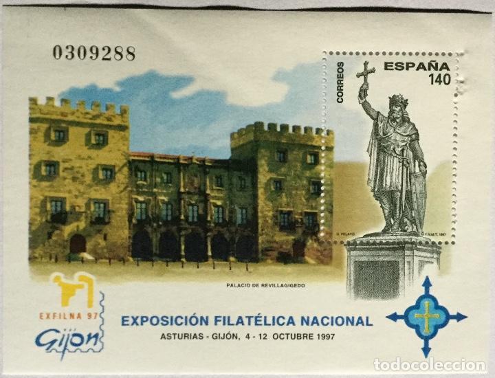 HOJITA EXFILNA 97 (Sellos - España - Juan Carlos I - Desde 1.986 a 1.999 - Nuevos)
