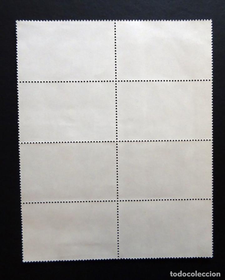 Sellos: Bloque de 8 sellos nuevos sin fijasellos Centenario de Picasso numero 2609 - Foto 2 - 132508798