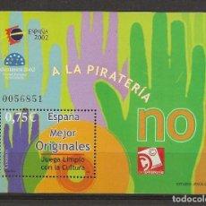 Sellos: R13.G8/ ESPAÑA 2002 **, ... JUVENIL ESPAÑA 2002. Lote 132654010
