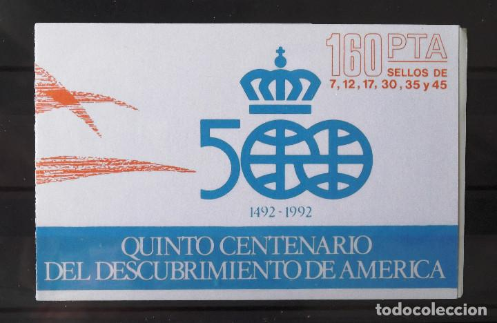 EDIFIL 2860C, DIEZ CARTERITAS CON LOS SEIS VALORES DE LA SERIE, NUEVOS, SIN CH., FOTO ESTÁNDAR. (Sellos - España - Juan Carlos I - Desde 1.986 a 1.999 - Nuevos)