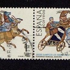 Sellos: EDIFIL. 2769. CUADRIGA ROMANA DE LOS JUEGOS OLÍMPICOS DE LOS ÁNGELES AÑO 1984. Lote 133325254