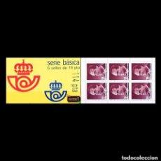 Sellos: 1986 EDIFIL 2834** CARNET CON SEIS SELLOS NUEVOS SIN CHARNELA. . Lote 133618206