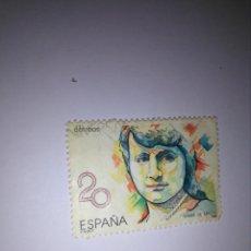 Sellos: SELLO 20 PESETAS - MARÍA DE MAEZTU. Lote 133984702