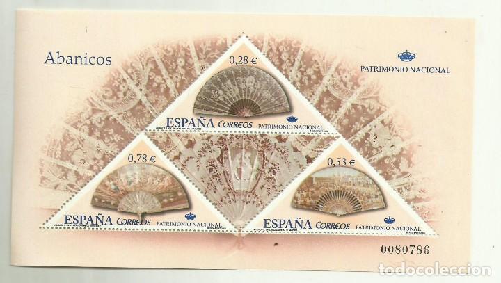 HB 2005. ABANICOS. 3 SELLOS CON FACIAL 1,59 EUROS CON EL 30% DESCUENTO (Sellos - España - Juan Carlos I - Desde 2.000 - Nuevos)
