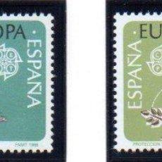 Sellos: ESPAÑA. SERIE COMPLETA DEL AÑO 1986, EN NUEVO. Lote 134226462