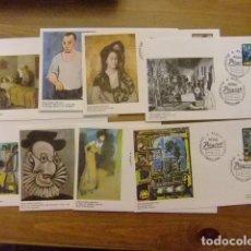 Sellos: ESPAÑA 1978 FDC 8 SOBRES PABLO RUIZ PICASSO / MUSEO PICASSO / BARCELONA EDIFIL 2481 / 2488. Lote 74985315