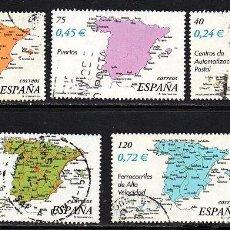 Sellos: SERIE USADA DE ESPAÑA - AÑO 2001 (LOTE 14). Lote 135396906