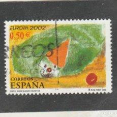 Sellos: ESPAÑA 2002 - EDIFIL NRO. 3896 - USADO. Lote 135674315