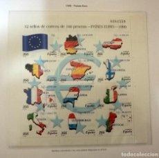Sellos: SELLOS ESPAÑA 1999 EDIFIL 3632/43** PAISES EURO. Lote 146592613