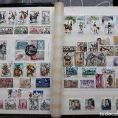 Sellos: ESPAÑA AÑO COMPLETO 1975 EN USADO. INCLUYE HOJAS BLOQUE ORFEBRERIA (3 FOTOS) EDIFIL 2232 A 2305. Lote 136867538