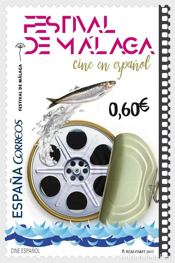 SPAIN 2017 - SPANISH CINEMA - MALAGA FILM FESTIVAL MNH (Sellos - España - Juan Carlos I - Desde 2.000 - Nuevos)