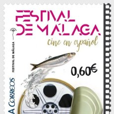 Sellos: SPAIN 2017 - SPANISH CINEMA - MALAGA FILM FESTIVAL MNH. Lote 137082206