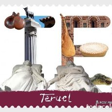Sellos: SPAIN 2017 - 12 MONTHS, 12 STAMPS - TERUEL MNH. Lote 137100098
