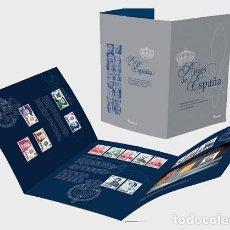 Sellos: SPAIN 2017 - FOLDER - KINGS OF SPAIN - SPECIAL FOLDER. Lote 137100182