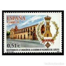 Sellos: ESPAÑA 2003. EDIFIL 4019. ACADEMIA DE INGENIEROS DEL EJERCITO. NUEVO** MNH. Lote 137168442