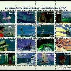 Sellos: ESPAÑA 2004- EDI 4065/68 (MP-81) (COMICS JUVENILES) NUEVO***SIN/CH. Lote 137248818
