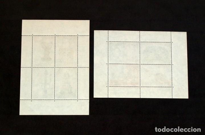 Sellos: Orfebreria española - Año 1975 - Nº Edifil 2252/2253 - 2 hojitas con mismo numero de control - Foto 2 - 30319032