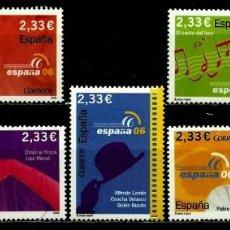 Sellos: ESPAÑA 2006- EDI 4268/74 SH [EXPO MUND. ESPAÑA'2006] NUEVO***SIN/CH. Lote 137860562