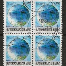 Sellos: R60/ ESPAÑA USADOS, 2009, EDIFIL 4479, DESARROLLO DEL MILENIO. Lote 137873878
