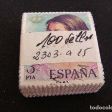Sellos: TACO 100 SELLOS REINA SOFIA, ,Nº EDIFIL 2303, US. . Lote 138643718