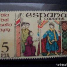 Sellos: EDIFIL 2526 DIA MUNDIAL DEL SELLO. SELLO NUEVO 1979. Lote 138679686