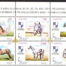 Sellos: SPAIN 1998. CABALLOS CARTUJANOS (A) ED 3608-13 (**) . Lote 138724430