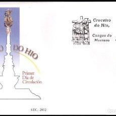 Sellos: ESPAÑA SOBRE PRIMER DIA AÑO 2002 EDIFIL 3952 SPD. Lote 138891166