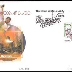 Sellos: ESPAÑA SOBRE PRIMER DIA AÑO 2002 EDIFIL 3953 SPD. Lote 138891246