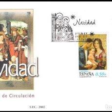 Sellos: ESPAÑA SOBRE PRIMER DIA AÑO 2002 EDIFIL 3955/56 SPD. Lote 138891390
