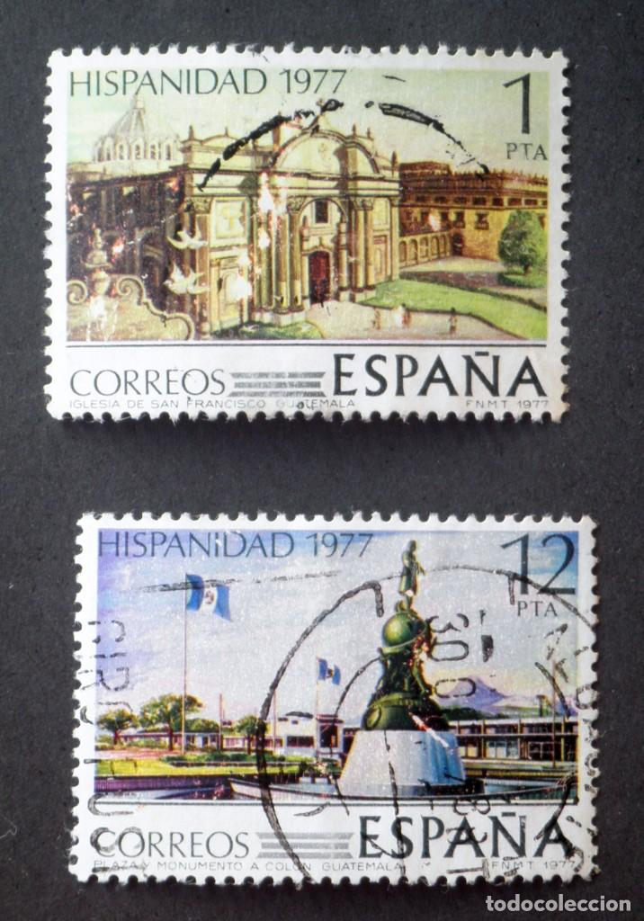 1977 ESPAÑA HISPANIDAD GUATEMALA (Sellos - España - Juan Carlos I - Desde 1.975 a 1.985 - Usados)