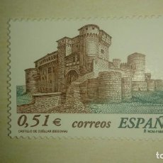 Sellos: SELLO CASTILLO DE CUELLAR (SEGOVIA). 2003, NUEVO. . Lote 139829934