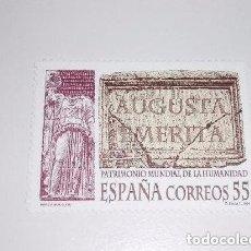 Sellos: ESPAÑA AUGUSTA EMERIA PATRIMONIO MUNDIAL DE LA HUMANIDAD. Lote 140121762