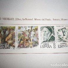 Sellos: SELLOS DE ESPAÑA - CENTENARIOS - TIZIANO VECELLIO NUEVO. Lote 140129214