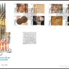 Sellos: ESPAÑA SOBRE PRIMER DIA AÑO 2004 EDIFIL 4052/4059 SPD. Lote 140480746
