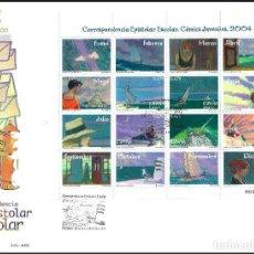 Sellos: ESPAÑA SOBRE PRIMER DIA AÑO 2004 EDIFIL 4065/4068 SPD. Lote 140480942