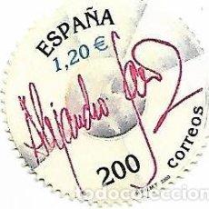 Sellos: SELLO DE ESPAÑA 2000 ALEJANDRO SANZ - EDIFIL 3756 - USADO. Lote 140501582