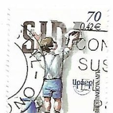 Sellos: SELLO USADO ESPAÑA 2000 - AMERICA UPAEP - SIDA - EDIFIL Nº 3767. Lote 140502290