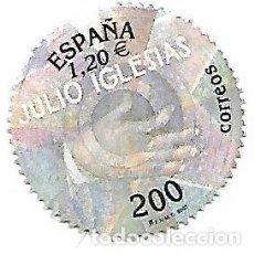 Sellos: SELLO ESPAÑA USADO. 2000. JULIO IGLESIAS - EDIFIL 3757. Lote 140513186