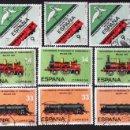 Sellos: EDIFIL 2670-72, 5 SERIES COMPLETAS EN USADO. CONGRESO INTERNACIONAL DE FERROCARRILES.. Lote 140842302