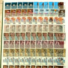 Sellos: SELLOS ESPAÑA- LOTE 190 - USADOS 100 SELLOS. Lote 140992630
