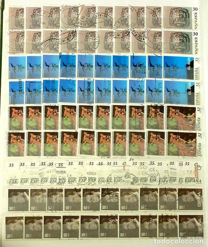 SELLOS ESPAÑA- LOTE 193- USADOS 100 SELLOS (Sellos - España - Juan Carlos I - Desde 1.975 a 1.985 - Usados)
